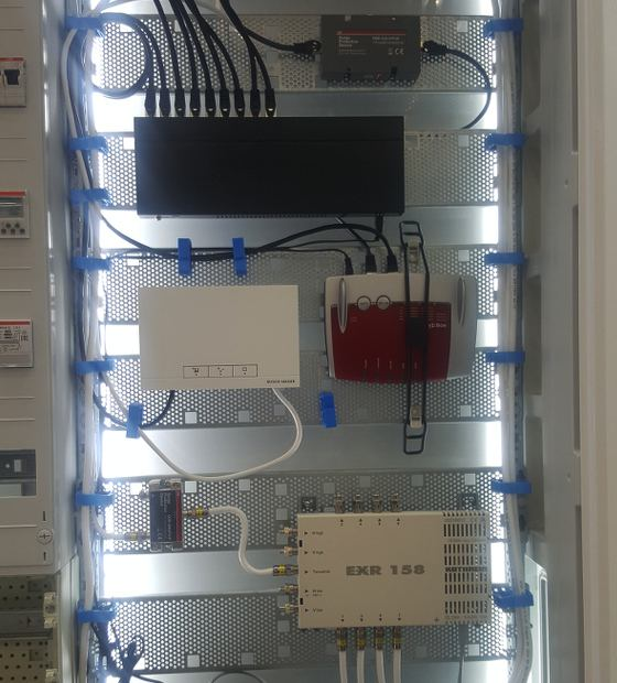 Electrician installation 1